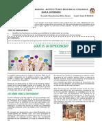 Guia 3. periodo 3 Ciencias sociales y cívica