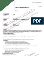 Silabo - ALBAÑILERÍA ESTRUCTURAL