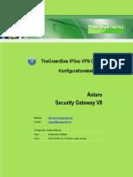 Astaro Security V8 VPN Gateway & GreenBow IPsec VPN Software Configuration