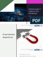 Aula 10 - Introdução à Ciência dos Materiais