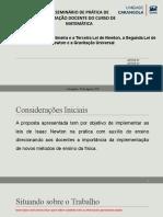 Modelo Seminário Pfd - Física i