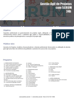 Gestão Ágil de Projetos Com SCRUM 2021