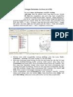 Digitasi Peta Otomatis Dengan Extent Ions ArcScan