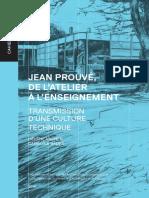 Les Cahiers Du LHAC Jean Prouve de l Ate