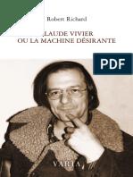 Vivier. Robert Richard. La machine désirante. PDF prom. premières pages.
