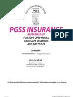 PGSS insurance