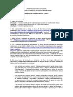 Orientações para matrícula 2014-1 - currículo antigo