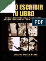 Como Escribir Tu Libro - Alvaro Parra Pinto__esm75V