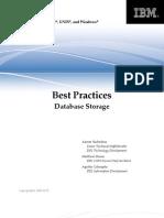 Best Practices - DB2 Storage