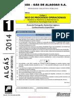 Técnico de Processos operacionais-2014-1