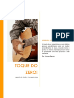 Apostila Violão - Toque Do Zero - Por Alcimar Ramos