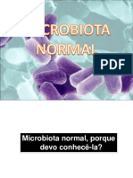 aula 4. SLIDE microbiota normal do corpo humano
