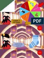 La reina pide - Dinámica Ruleta