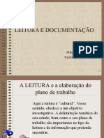 Leitura e Documentação