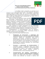 CARTA DE RESPONSABILIDADES
