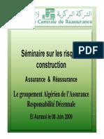 Groupement Algerien Assurance Responsabilite Decennale