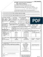 STAFF SELECTION COMMISSION GRADUATION LEVEL EXAM-2011 APPLICATION FORM