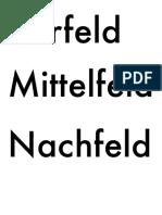 Stellung s Felder Modell