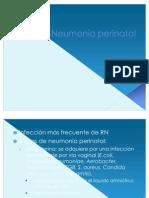 Neumonía perinatal