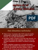 2.1. România în al doilea război mondial