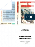 Norman Goodman - INTRODUCERE IN SOCIOLOGIE