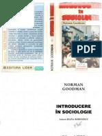 Norman Goodman - INTRODUCERE IN SOCIOLOGIE