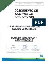 P-SGA-001 Procedimiento Control Documentos