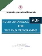 Revised PhD Rules_AY 2010-11