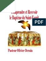 02 Le Baptême Du Saint Esprit