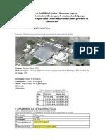 Informe de factibilidad técnica y financiero para la contratación del estudio