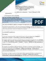 Guía de actividades y rúbrica de evaluación – Tarea 4 – Dibujo en CAD paramétrico (2)