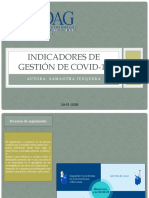 Indicadores de gestion covid19