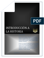 Ensayo de Introduccion Ala Historia