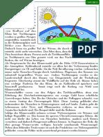 Der Klimawandel. Text