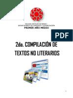 2da. Compilación de textos no literarios I° 2021