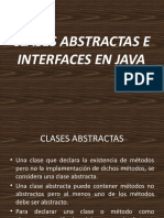Clase Abstracta - Interface