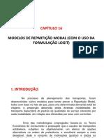 Cap16 ST - 2020-2 - Repartição Modal de Tráfego - LOGIT - Remoto