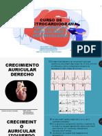 CURSO 3 EKG CRECIMIENTOS AURICULARES Y VENTRICULARES