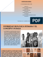 Diversidad Biológica Humana y el Concepto de Raza