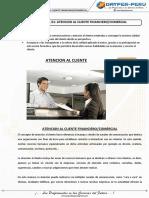 S1 - Atención al Cliente Financiero Comercial