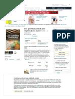 Amazon.fr - Les guerres d'Afrique_ Des origines à nos jours - Lugan, Bernard - Livres