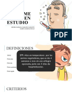 SINDROME FEBRIL EN ESTUDIO t.