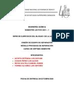 Compendio de Ejercicios Bloque 1 Diseño de Equipo de Separacion (1)