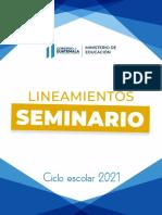Lineamientos Seminario 2021