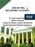 CLASE 4. CANCER DE PIEL   y MELANOMA CUTANEO 2016