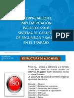 INTERPRETACIÓN-IMP ISO 45001- UNIV AGRARIA - SESIÓN A
