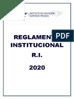 AMERICANO-REGLAMENTO-INSTITUCIONAL