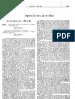 Ley 7-1985, 02-04, Reguladora de Las Bases Del Regimen Local