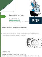 LP1_-_Aula10_-_Ordenacao_de_Listas
