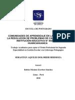 2018 Dolorier Hermoza Sebastián